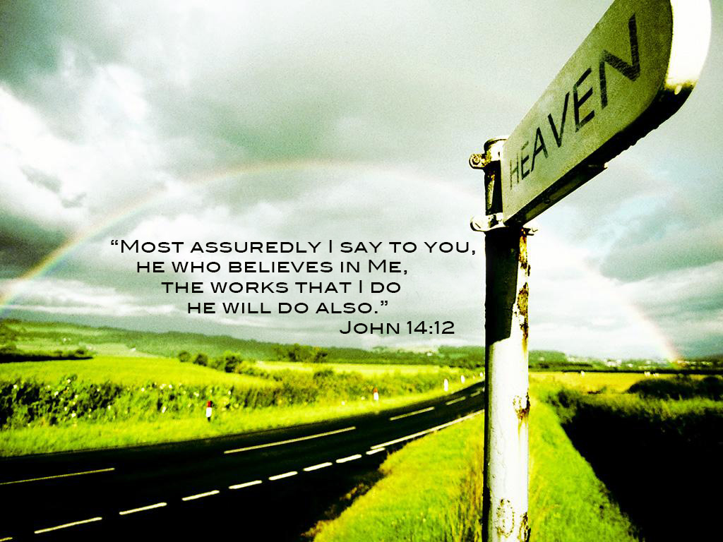 living in His name john 14:12